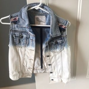 Jean Jacket Sleeveless